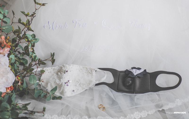 Đeo khẩu trang chụp ảnh cưới vì COVID-19, đôi uyên ương Sài thành vẫn đẹp nao lòng-2