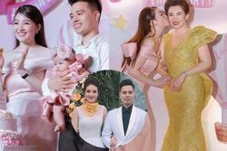 Tổ chức tiệc sang chảnh cho con gái, nhan sắc cô dâu 200 cây vàng ở Nam Định gây sốt