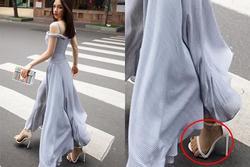 Hòa Minzy bị chê 'bàn chân xấu để ngón tràn ra rong chơi lề đường'