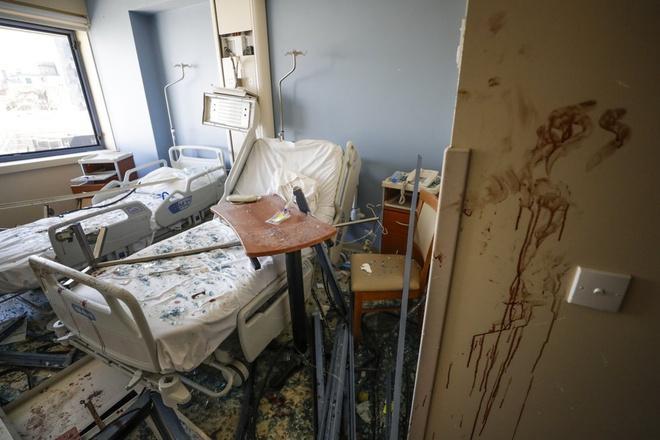 Clip quay chậm vụ nổ kinh hoàng - sự trỗi dậy làn sóng hủy diệt tại Beirut, Lebanon-3