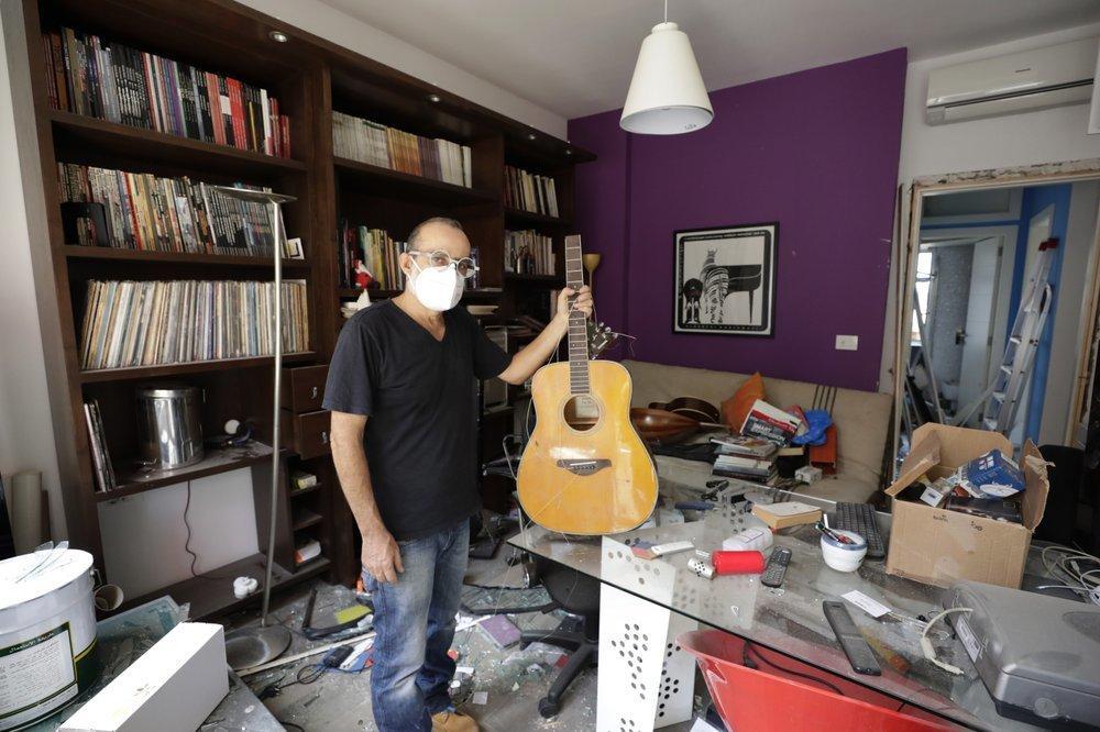 Clip quay chậm vụ nổ kinh hoàng - sự trỗi dậy làn sóng hủy diệt tại Beirut, Lebanon-2