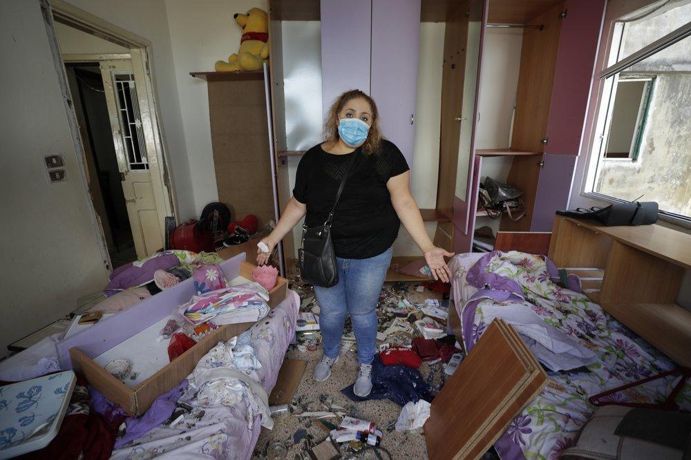 Clip quay chậm vụ nổ kinh hoàng - sự trỗi dậy làn sóng hủy diệt tại Beirut, Lebanon-6