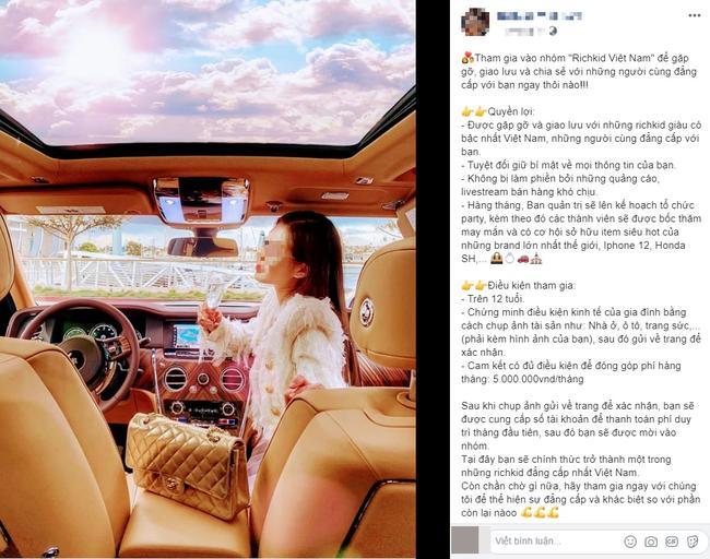 Chị cả rich kids Việt phủ nhận nhúng tay vụ đăng tuyển member điều kiện shock-1