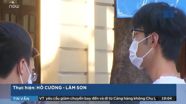 Thí sinh thi THPT Quốc gia xuất hiện 1s trên TV  dù đeo khẩu trang vẫn khiến hội mê trai đắm đuối-2