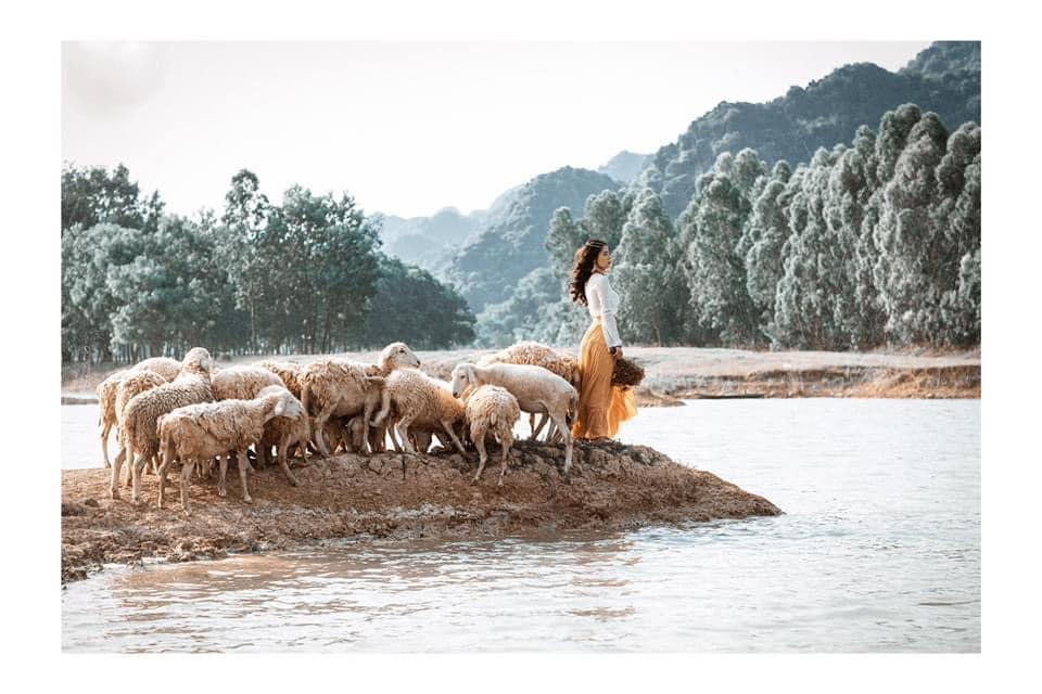 Nghìn góc sống ảo chỉ tốn có 50k đẹp như tranh ở đồng cừu Ninh Bình-4
