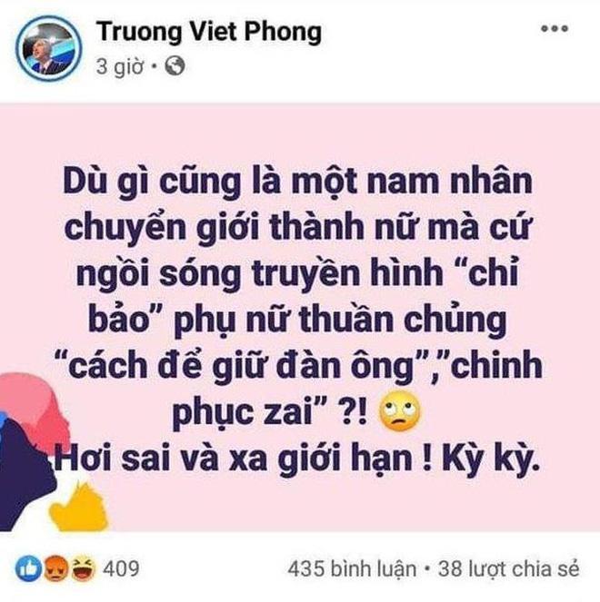 Bị chửi sấp mặt vì bị cho là miệt thị Hương Giang, MC VTV khẳng định giữ vững quan điểm-1