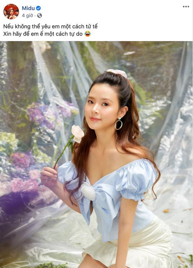 Midu, Phan Thành cùng đăng status hợp cả tình lẫn cảnh sau 6 năm tan vỡ-2