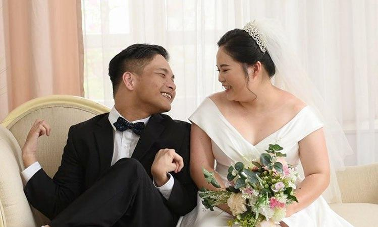 Nhạc sĩ bại não kết hôn với bạn gái ở Cao Bằng, cả hai sắp có con đầu lòng-1