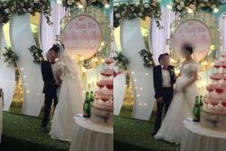 Cảnh hôn đám cưới rầm rộ MXH: Hành động 'xấu hổ' của chú rể được hưởng ứng rần rần