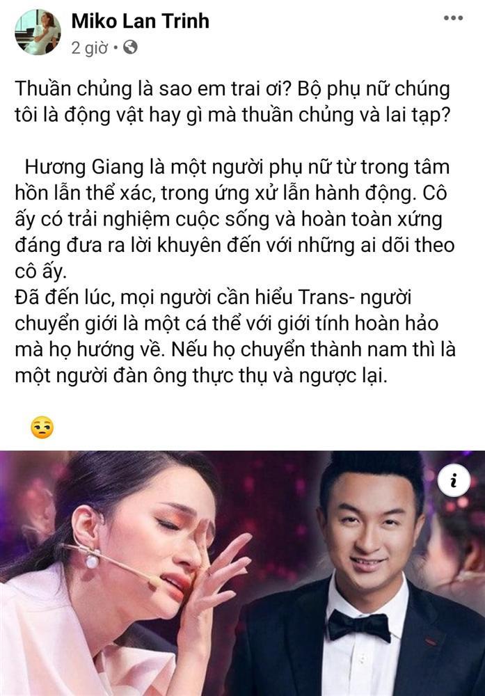 Dàn sao Việt và MXH dậy sóng khi Hương Giang bị gọi là không thuần chủng-5