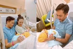 Đàm Thu Trang lộ diện sau sinh, Cường Đô La lập tức rắc ngập 'thính thơm'