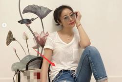 Thả nhẹ chiếc ảnh, Lâm Tâm Như khéo giải đáp tin đồn mang thai lần 2