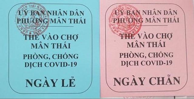 Từ 12/8, Đà Nẵng phát thẻ vào chợ, mỗi hộ dân 3 ngày được đi chợ 1 lần-1