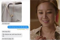 Cô gái chưng hửng khi phát hiện sợi dây chuyền vàng người yêu tặng giá trị chỉ 34k