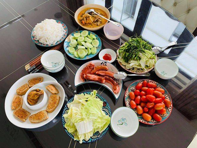 Bí mật lấy chồng lần 2, MC Thanh Vân Hugo khoe bữa cơm ngon mắt, đích thị là vợ đảm-2