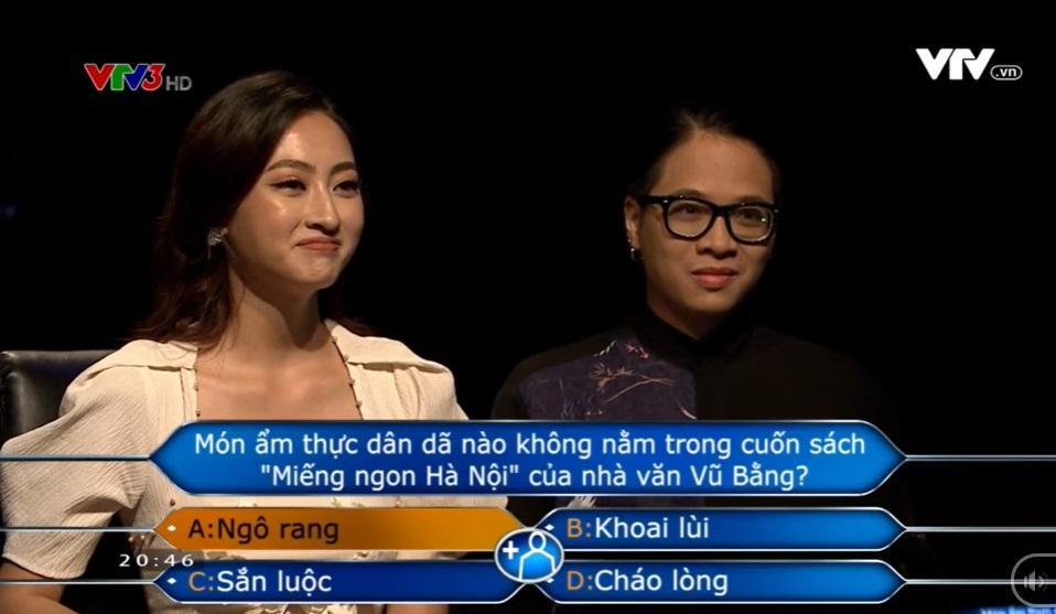 Hoa hậu Lương Thùy Linh xuất sắc giành 22 triệu đồng tại Ai Là Triệu Phú-4