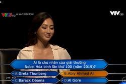 Hoa hậu Lương Thùy Linh xuất sắc giành 22 triệu đồng tại 'Ai Là Triệu Phú'