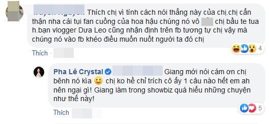 Pha Lê bị mắng bú fame Hương Giang - Matt Liu: Cô ấy còn cảm ơn tôi kìa-6