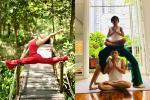 Mẹ Hồ Ngọc Hà luyện yoga cực đỉnh ở tuổi 63, đến con gái cũng thua xa