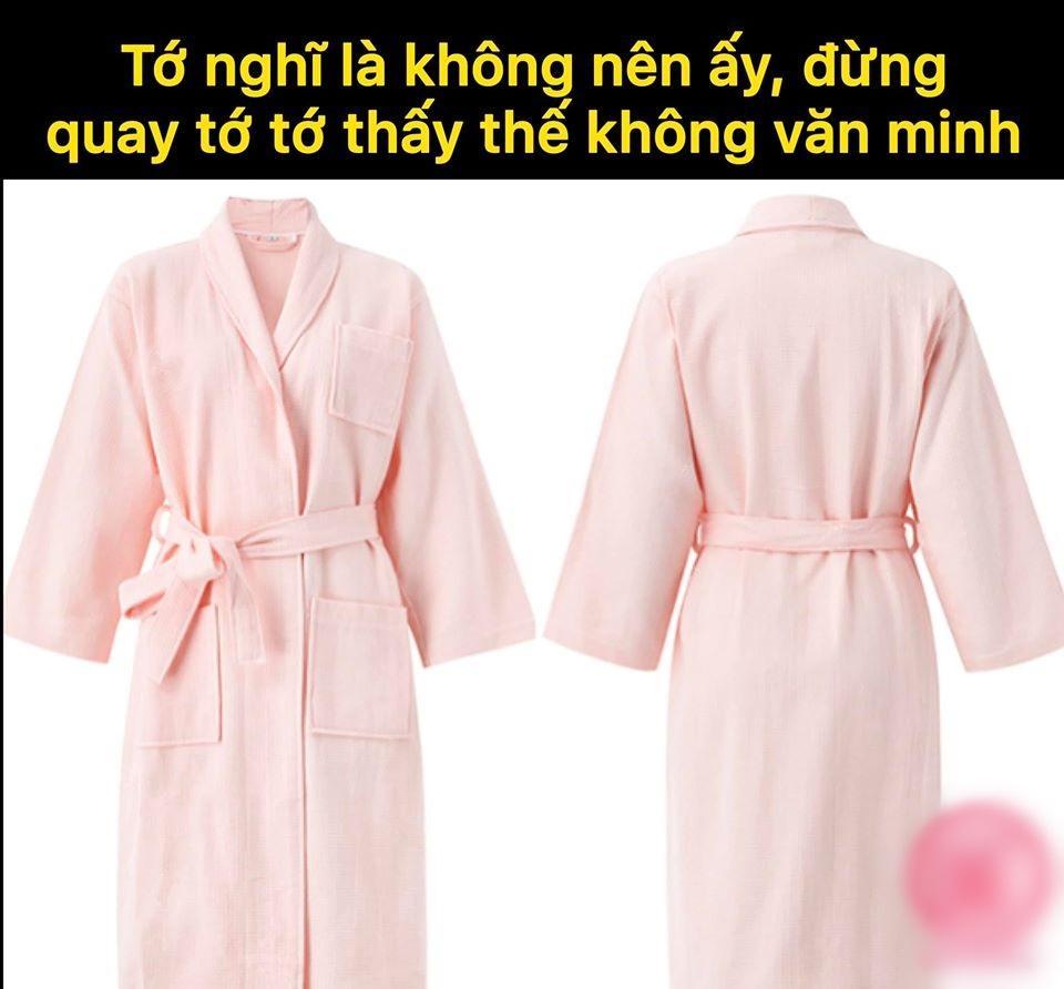 Bộ thể thao chồng Âu Hà My, áo choàng hồng Tuesday thành trang phục bị lêu lêu-4