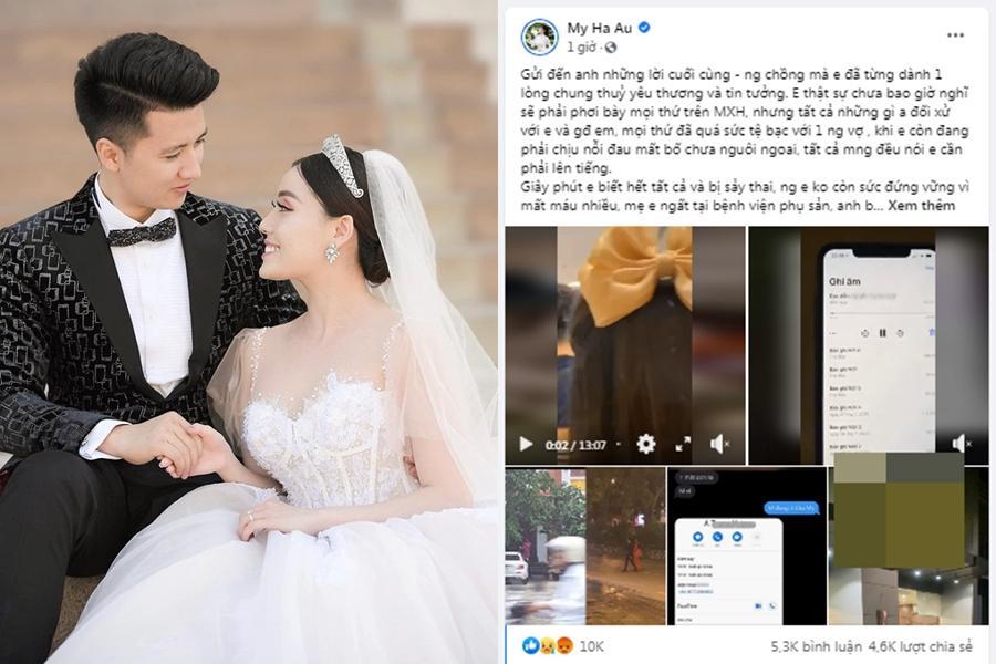 Âu Hà My tố chồng ngoại tình, sao Việt thi nhau bình luận theo dòng sự kiện-1