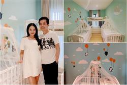 Không gian sống 'xịn xò' của cặp quý tử sắp chào đời nhà Dương Khắc Linh