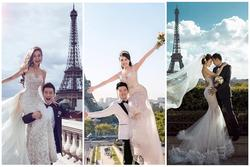 'Lời nguyền' chụp ảnh cưới tại Pháp: Âu Hà My ly hôn, Angela Baby lục đục, Ngọc Duyên cũng 'toang'