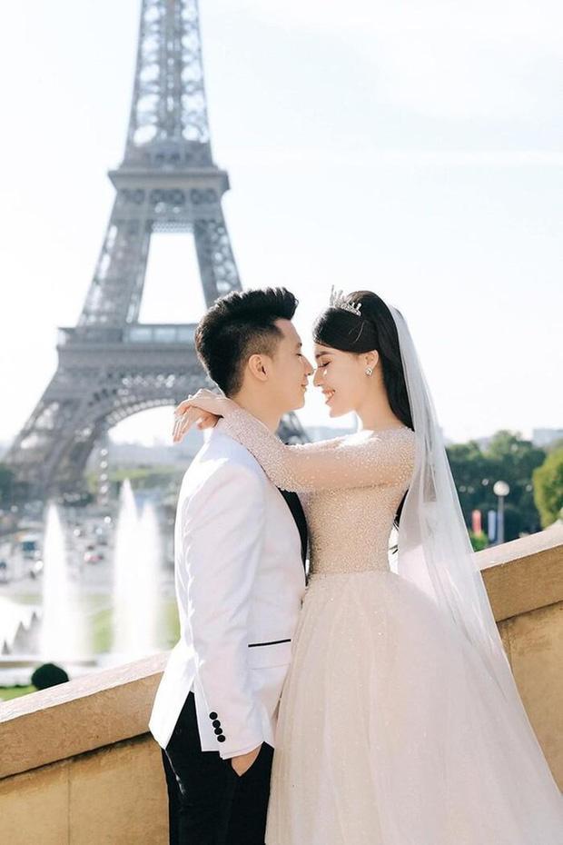 Trước khi bị phụ bạc, Âu Hà My từng hóa công chúa trong đám cưới với 3 bộ váy đính kim cương giá 1 tỉ đồng-1