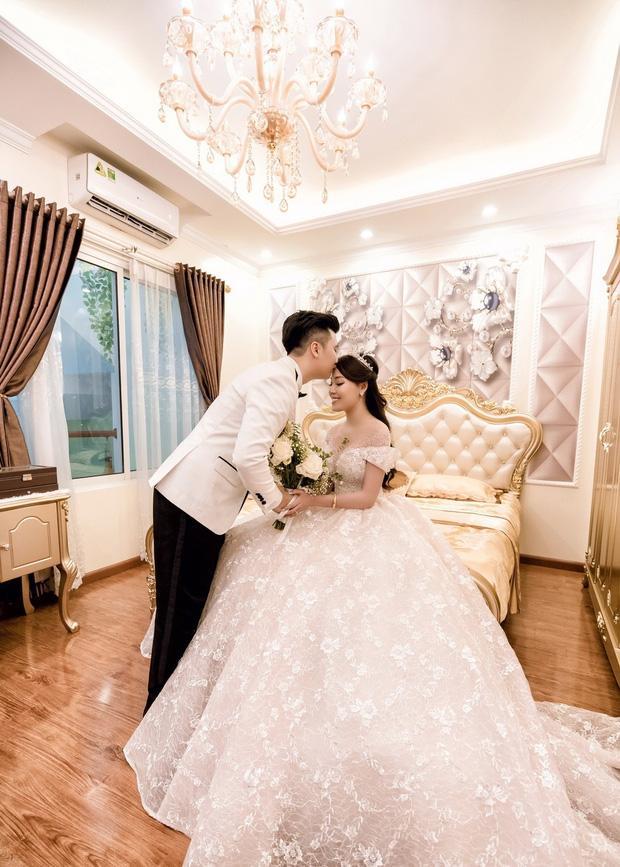 Trước khi bị phụ bạc, Âu Hà My từng hóa công chúa trong đám cưới với 3 bộ váy đính kim cương giá 1 tỉ đồng-4
