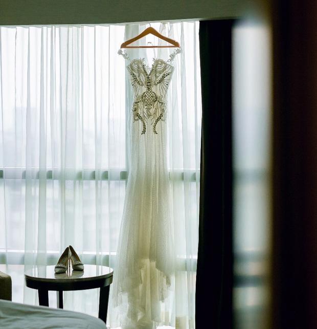 Trước khi bị phụ bạc, Âu Hà My từng hóa công chúa trong đám cưới với 3 bộ váy đính kim cương giá 1 tỉ đồng-8