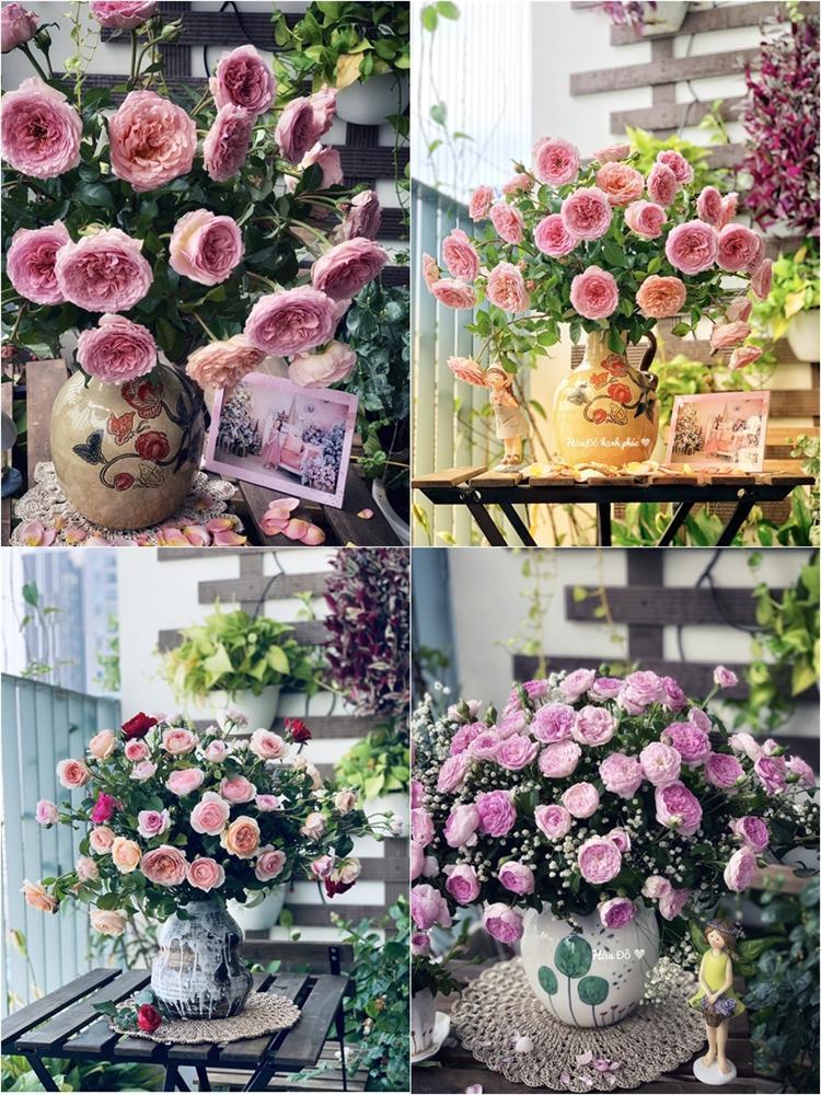 Cô giáo yoga coi cắm hoa như hành thiền, chỉ cách cắm bình hồng ngoại, bông nào cũng đẹp bung lụa-2
