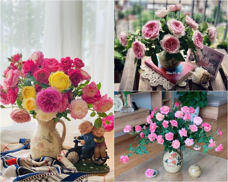 Cô giáo yoga coi cắm hoa như hành thiền, chỉ cách cắm bình hồng ngoại, bông nào cũng đẹp bung lụa-4