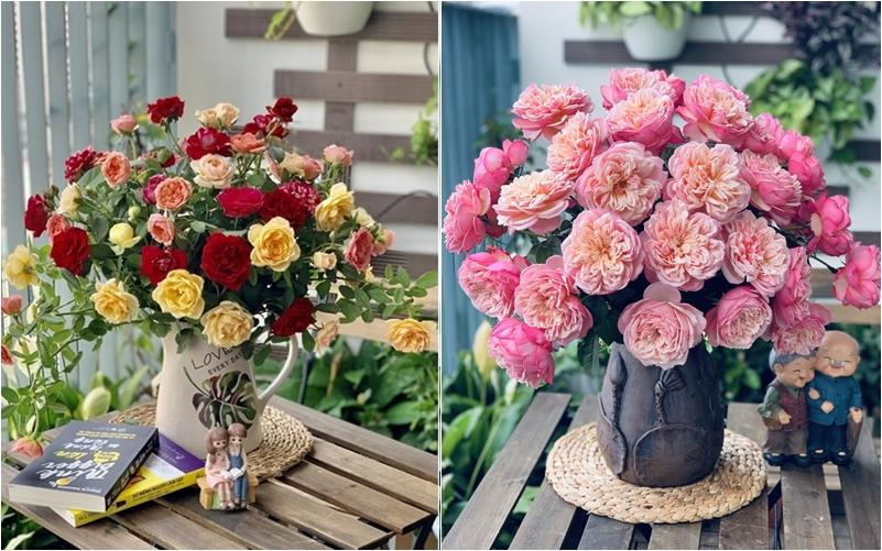 Cô giáo yoga coi cắm hoa như hành thiền, chỉ cách cắm bình hồng ngoại, bông nào cũng đẹp bung lụa-3