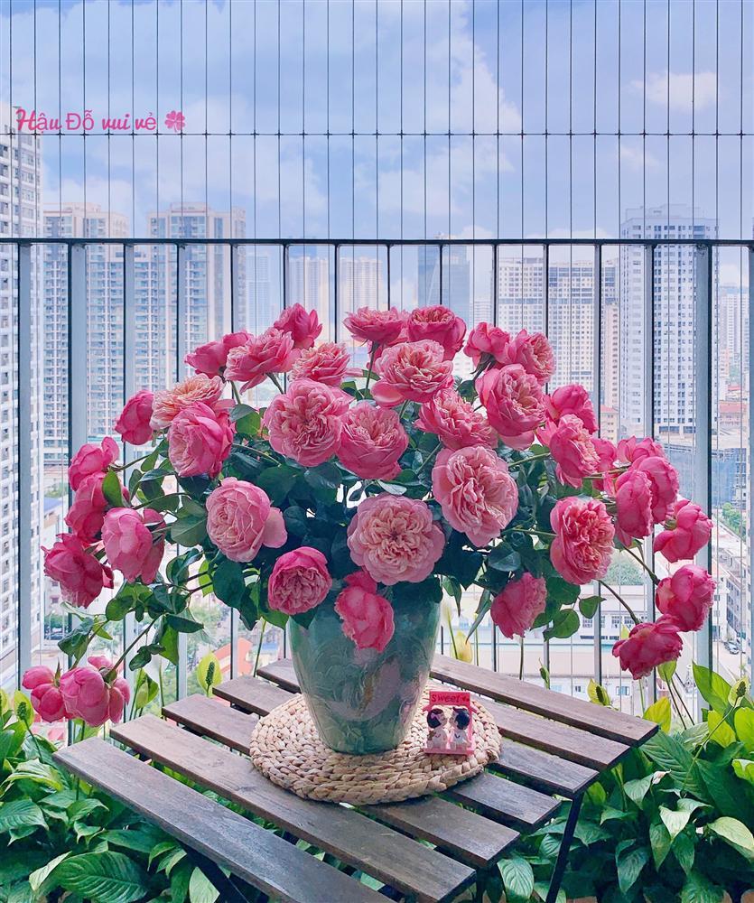Cô giáo yoga coi cắm hoa như hành thiền, chỉ cách cắm bình hồng ngoại, bông nào cũng đẹp bung lụa-11