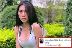 Hoa hậu Tường Linh bị chê 'dơ' vì đăng status mời đàn ông đi ăn tối