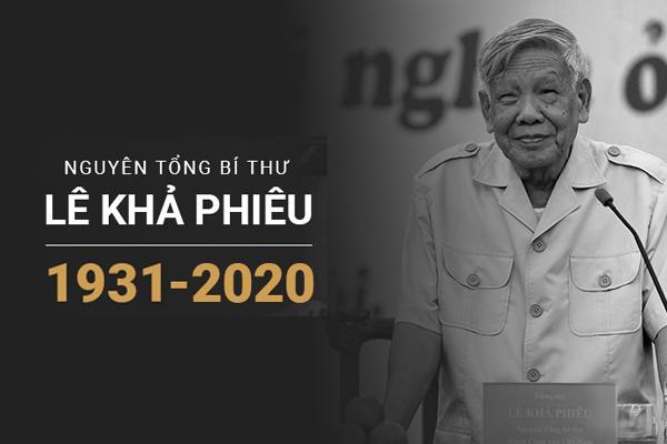 Thủ tướng, Chủ tịch QH viếng nguyên Tổng Bí thư Lê Khả Phiêu-22