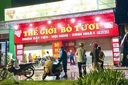 KHẨN: Hà Nội đề nghị người từng đến nhà hàng Thế giới bò tươi ở Hải Dương khai báo gấp