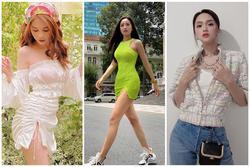 Ngọc Trinh - Mai Phương Thúy khoe outfit xẻ đùi sexy chiếm spotlight đường phố