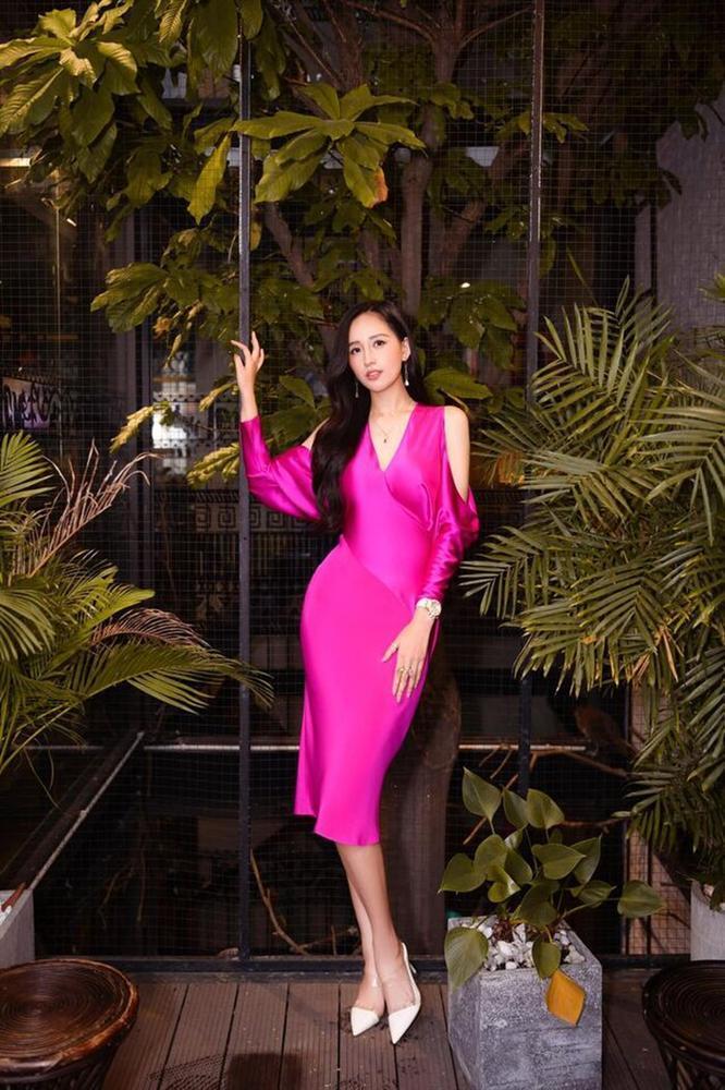 Váy cưới đấu giá nửa tỷ của Lương Thùy Linh HOT nhất làng mẫu tuần qua-2