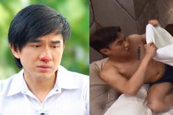 Sao Việt đóng cảnh bị đánh ghen: Đan Trường sưng đỏ mũi, Quốc Trường thấy xấu hổ