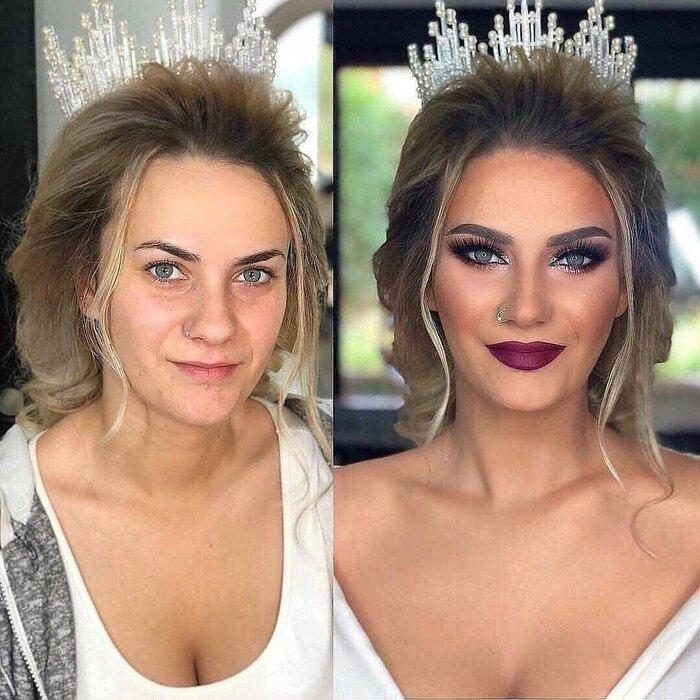Loạt ảnh các cô dâu trước và sau được họa mặt chứng minh cho sức mạnh vô địch của make up-3