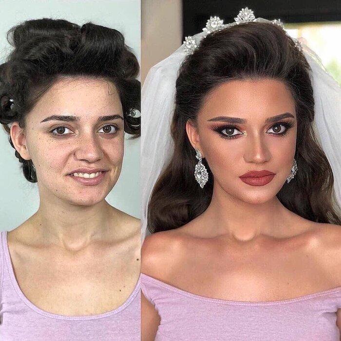 Loạt ảnh các cô dâu trước và sau được họa mặt chứng minh cho sức mạnh vô địch của make up-6