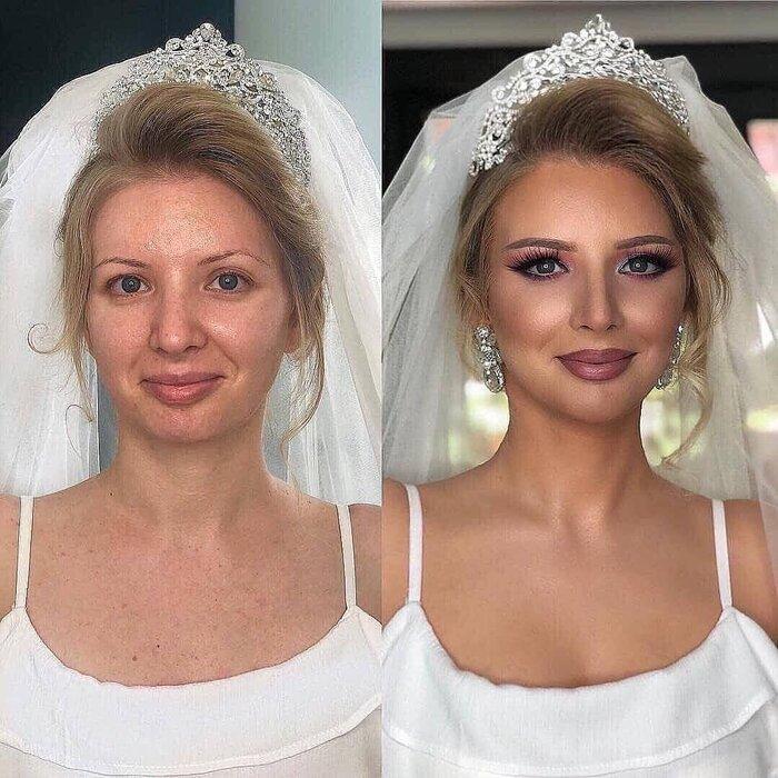 Loạt ảnh các cô dâu trước và sau được họa mặt chứng minh cho sức mạnh vô địch của make up-8