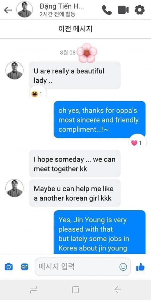 Hotgirl Hàn Quốc bất ngờ công khai tin nhắn cực nhạy cảm với ViruSs, sự thật ra sao?-2