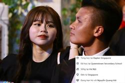 Bạn gái Quang Hải bị 'bóc phốt' xuất thân phức tạp, du học sinh Singapore chỉ là 'cái mác'