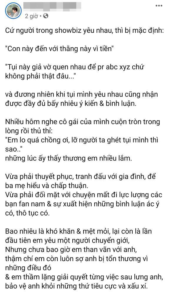 Chân dung người tình chuyển giới cưng Miko Lan Trinh như trứng mỏng-3