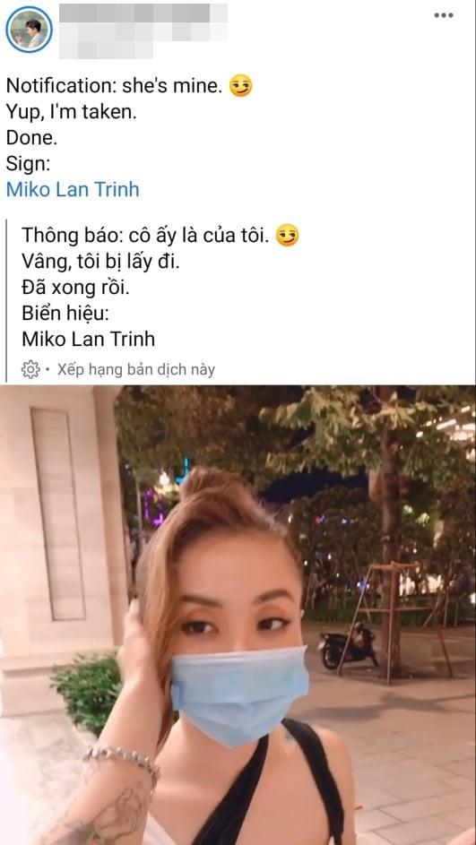 Chân dung người tình chuyển giới cưng Miko Lan Trinh như trứng mỏng-4