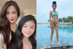 Con gái Trương Ngọc Ánh trổ mã ngỡ ngàng ở tuổi 12, ra dáng hoa hậu tương lai