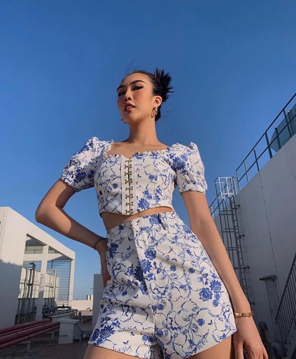 Những fashionista Việt phải lòng phong cách matchy-matchy khoe dáng táo bạo-9