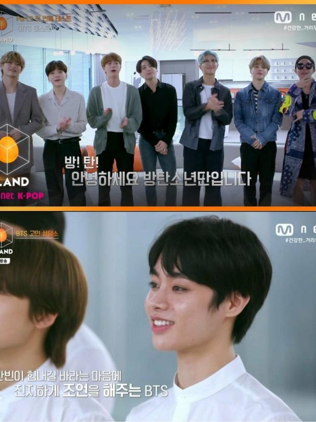 BTS khuyên thực tập sinh Hanbin của Việt Nam khi thiếu tự tin tại show của Big Hit-3